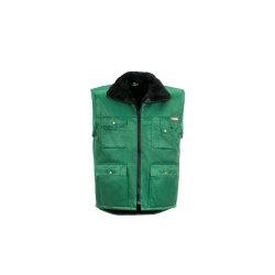 Größe S Herren Planam Outdoor Winter Gletscher Pilotenweste grün Modell 0342