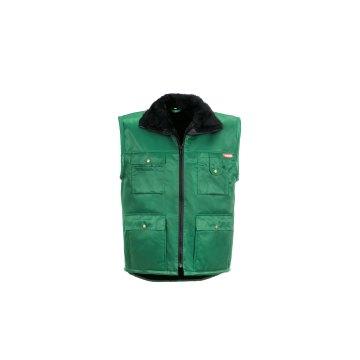 Größe M Herren Planam Outdoor Winter Gletscher Pilotenweste grün Modell 0342