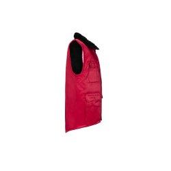 Größe L Herren Planam Outdoor Winter Gletscher Pilotenweste rot Modell 0343