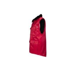 Größe M Herren Planam Outdoor Winter Gletscher Pilotenweste rot Modell 0343