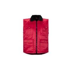 Größe XL Herren Planam Outdoor Winter Gletscher Pilotenweste rot Modell 0343