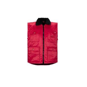 Größe XXXL Herren Planam Outdoor Winter Gletscher Pilotenweste rot Modell 0343