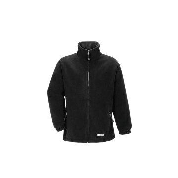 Größe M Herren Planam Outdoor Fleece Stream Fleecejacke schwarz anthrazit Modell 0346