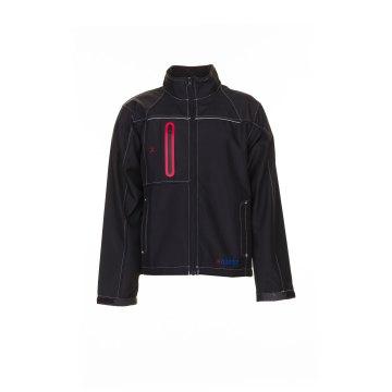 Größe XL Herren Planam Outdoor Winter Basalt Softshelljacke schwarz Modell 3380