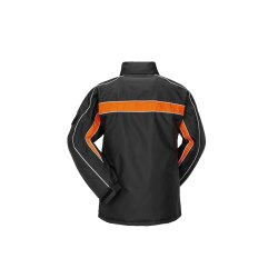 Größe S Herren Planam Outdoor Winter Cosmic Jacke schwarz orange Modell 3601