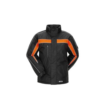 Größe L Herren Planam Outdoor Winter Cosmic Jacke schwarz orange Modell 3601