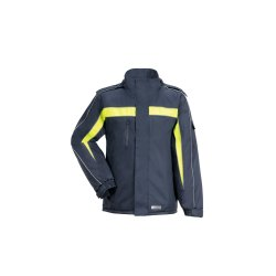 Größe L Herren Planam Outdoor Winter Cosmic Jacke marine gelb Modell 3602