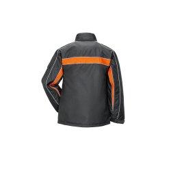 Größe L Herren Planam Outdoor Winter Cosmic Jacke anthrazit orange Modell 3603