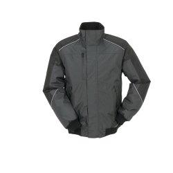 Größe L Unisex Planam Outdoor Winter Desert Blouson grau schwarz Modell 3327