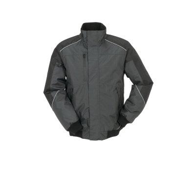 Größe M Unisex Planam Outdoor Winter Desert Blouson grau schwarz Modell 3327