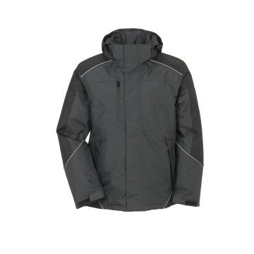Größe L Unisex Planam Outdoor Winter Desert Jacke grau schwarz Modell 3325