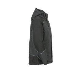 Größe XXL Unisex Planam Outdoor Winter Desert Jacke grau schwarz Modell 3325