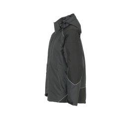Größe XXXL Unisex Planam Outdoor Winter Desert Jacke grau schwarz Modell 3325