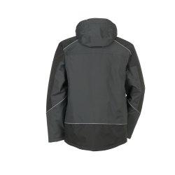 Größe 4XL Unisex Planam Outdoor Winter Desert Jacke grau schwarz Modell 3325