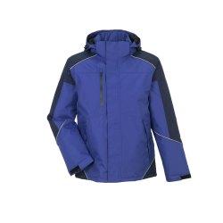 Größe M Unisex Planam Outdoor Winter Desert Jacke blau marine Modell 3326