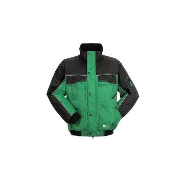 Größe S Herren Planam Outdoor Winter Dust Blouson farngrün schwarz Modell 3315