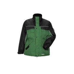 Größe L Herren Planam Outdoor Winter Dust Parka farngrün schwarz Modell 3317