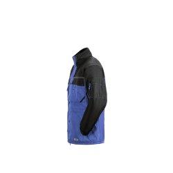 Größe S Herren Planam Outdoor Winter Dust Parka royalblau schwarz Modell 3322
