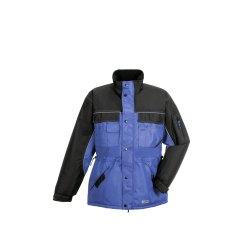 Größe L Herren Planam Outdoor Winter Dust Parka royalblau schwarz Modell 3322