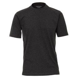 Casamoda T-Shirt Dunkelgrau Kurzarm Normal Geschnitten...