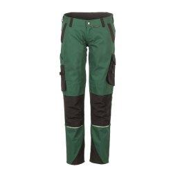 Planam Norit Damen Bundhose grün schwarz Modell 6414