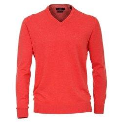 Casamoda Sport Pullover Hellrot Langarm Normal...