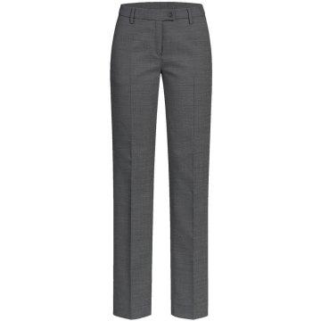 Greiff Corporate Wear Modern with 37.5 Damen Hose Regular Fit Schwarz PINPOINT Modell 1356