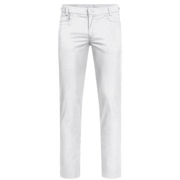 Greiff Corporate Wear Casual Herren Hose Regular Fit Weiß Modell 1318