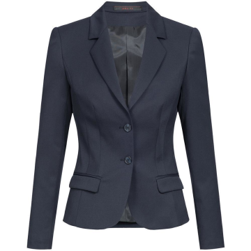 Greiff Corporate Wear Basic Damen Blazer Slim Fit Marine Blau Modell 1434 7000