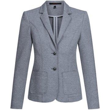 Greiff Corporate Wear Premium Damen Blazer Regular Fit Anthrazit Modell 1446
