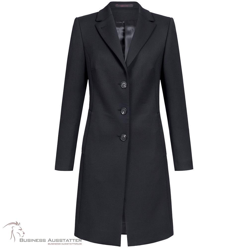 a56f288c274501 Greiff, Corporate Wear, Outdoor, Damen, Mantel, Regular Fit, Schwarz,