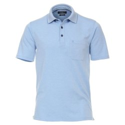 Casamoda Sport Polo Shirt Hellblau Kurzarm Normal...