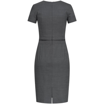 Größe 40 Greiff Corporate Wear Modern with 37.5 Damen Etuikleid Regular Modern Fit Marine Schwarz PINPOINT Modell 1064