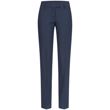 Größe 38 Greiff Corporate Wear Premium Damen Hose Regular Fit Blau Mikrodessin Modell 1359