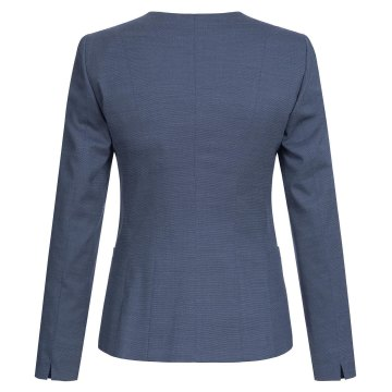 Größe 32 Greiff Corporate Wear Modern with 37.5 Damen Blazer Regular Fit Marine Blau PINPOINT Modell 1429