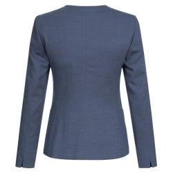 Größe 42 Greiff Corporate Wear Modern with 37.5 Damen Blazer Regular Fit Marine Blau PINPOINT Modell 1429