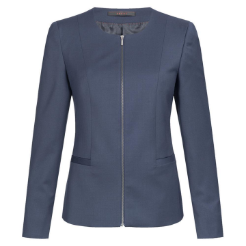 Größe 44 Greiff Corporate Wear Modern with 37.5 Damen Blazer Regular Fit Dunkelblau Modell 1429 2820