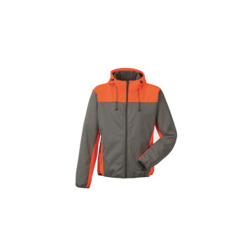 Größe L Planam Outdoor Kontrast Softshelljacke grau orange Modell 3732