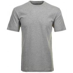 Ragman Herren T-Shirt Doppelpack Rundhals grau-melange...