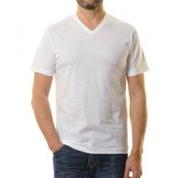 Ragman Herren T-Shirt Doppelpack V-Ausschnitt lang &...