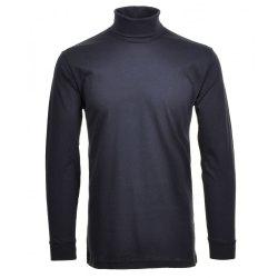 Ragman Herren Shirt Rollkragen marine Modell 40170