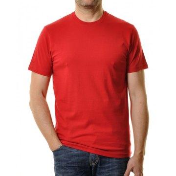 Ragman Herren T-Shirt Rundhals rot Modell 40181