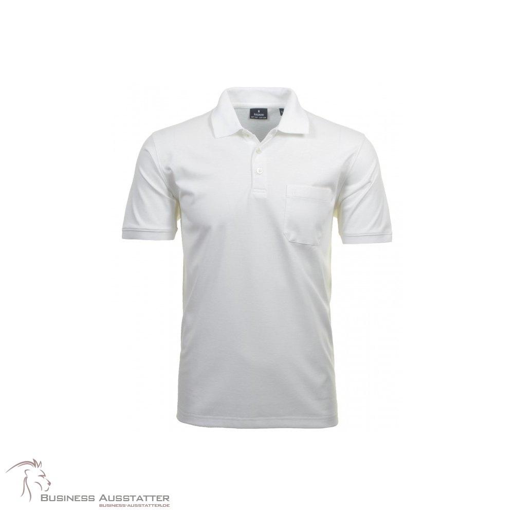 Ragman Herren Poloshirt Softknit Kurzarm Jeans Regular Fit 540391