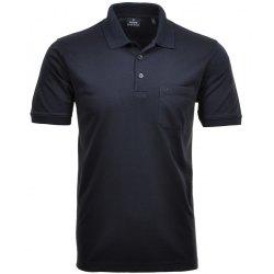 Ragman Herren Poloshirt Softknit Kurzarm marine 540391