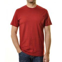 Größe M Ragman Herren T-Shirt rundhals blutrot...
