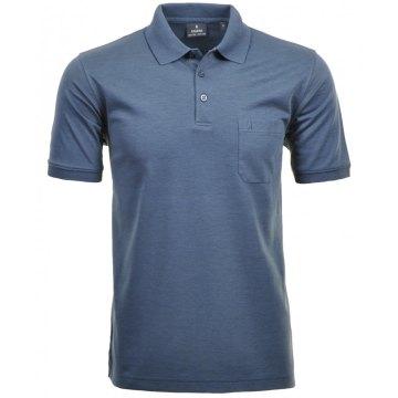 Größe S Ragman Herren Poloshirt Softknit kurzarm jeans 540391