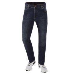 Bugatti Herren Jeans 5-Pocket Stil Flexcity Blau