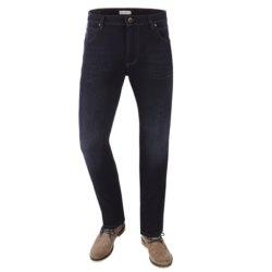 Bugatti Herren Jeans 5-Pocket Stil Flexcity Dunkelblau Stone