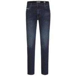 Bugatti Herren Jeans Used Look Modern Fit Dunkelblau