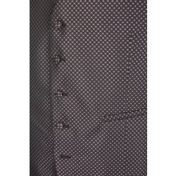WILVORST Smokingweste Weste Bordeaux Rot Slim Line DROP 8 sehr schmal geschnitten Zweireiher Wolle-Mohair-Mix New Colours Cool Classics 487123/51/